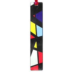 Colorful geomeric desing Large Book Marks