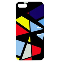 Colorful geomeric desing Apple iPhone 5 Hardshell Case with Stand