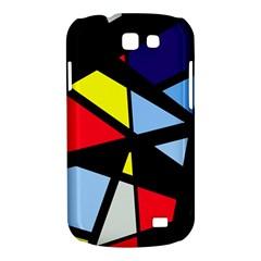 Colorful geomeric desing Samsung Galaxy Express I8730 Hardshell Case