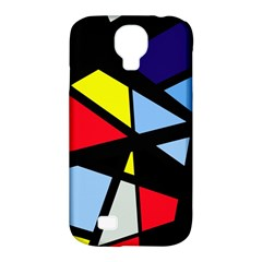 Colorful geomeric desing Samsung Galaxy S4 Classic Hardshell Case (PC+Silicone)
