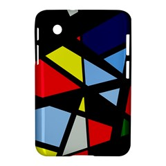 Colorful geomeric desing Samsung Galaxy Tab 2 (7 ) P3100 Hardshell Case