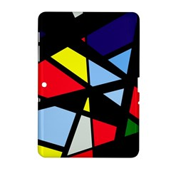 Colorful geomeric desing Samsung Galaxy Tab 2 (10.1 ) P5100 Hardshell Case