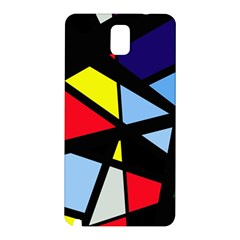 Colorful geomeric desing Samsung Galaxy Note 3 N9005 Hardshell Back Case