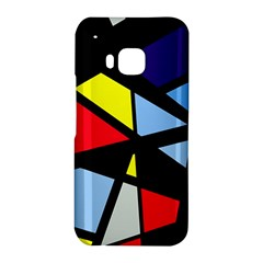 Colorful geomeric desing HTC One M9 Hardshell Case