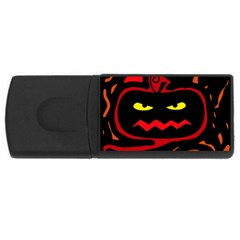 Halloween pumpkin USB Flash Drive Rectangular (1 GB)