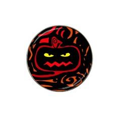 Halloween pumpkin Hat Clip Ball Marker (10 pack)