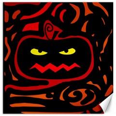 Halloween pumpkin Canvas 12  x 12