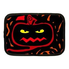 Halloween pumpkin Netbook Case (Medium)