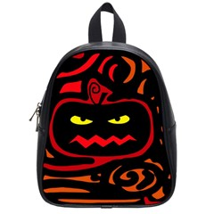 Halloween pumpkin School Bags (Small)