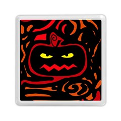 Halloween pumpkin Memory Card Reader (Square)