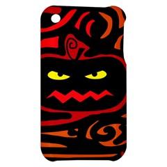 Halloween pumpkin Apple iPhone 3G/3GS Hardshell Case