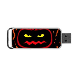Halloween pumpkin Portable USB Flash (Two Sides)