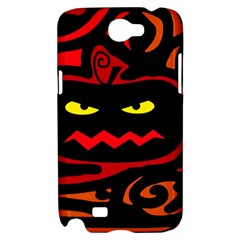 Halloween pumpkin Samsung Galaxy Note 2 Hardshell Case
