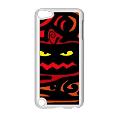 Halloween pumpkin Apple iPod Touch 5 Case (White)