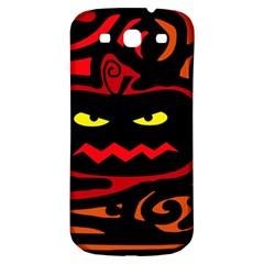 Halloween pumpkin Samsung Galaxy S3 S III Classic Hardshell Back Case