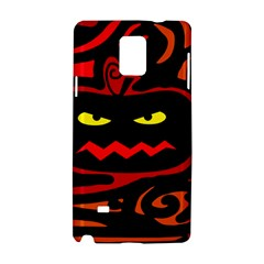 Halloween pumpkin Samsung Galaxy Note 4 Hardshell Case