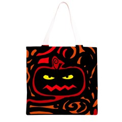Halloween pumpkin Grocery Light Tote Bag