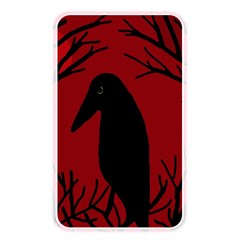 Halloween raven - red Memory Card Reader