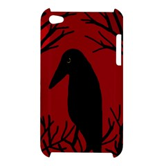Halloween raven - red Apple iPod Touch 4