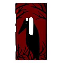 Halloween raven - red Nokia Lumia 920