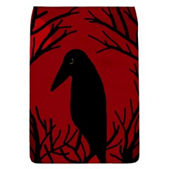 Halloween raven - red Flap Covers (L)