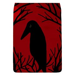 Halloween raven - red Flap Covers (S)