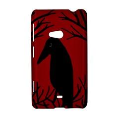 Halloween raven - red Nokia Lumia 625