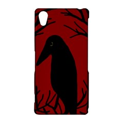Halloween raven - red Sony Xperia Z2