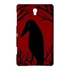 Halloween raven - red Samsung Galaxy Tab S (8.4 ) Hardshell Case