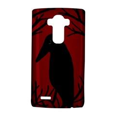 Halloween Raven   Red Lg G4 Hardshell Case