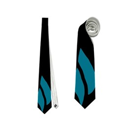 Halloween raven - Blue Neckties (Two Side)