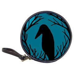 Halloween raven - Blue Classic 20-CD Wallets