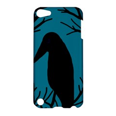 Halloween raven - Blue Apple iPod Touch 5 Hardshell Case