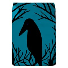 Halloween raven - Blue Flap Covers (S)
