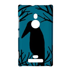 Halloween raven - Blue Nokia Lumia 925