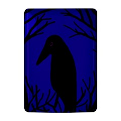Halloween raven - deep blue Kindle 4