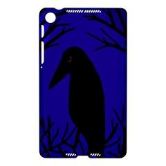 Halloween raven - deep blue Nexus 7 (2013)