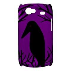Halloween raven - purple Samsung Galaxy Nexus S i9020 Hardshell Case