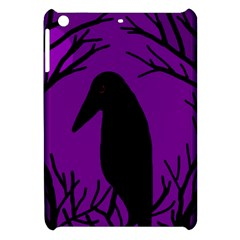 Halloween raven - purple Apple iPad Mini Hardshell Case