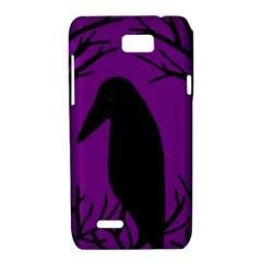 Halloween raven - purple Motorola XT788