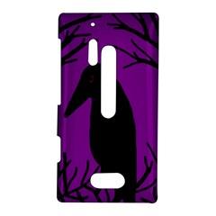 Halloween raven - purple Nokia Lumia 928