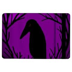 Halloween raven - purple iPad Air Flip