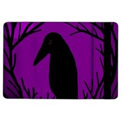 Halloween raven - purple iPad Air 2 Flip