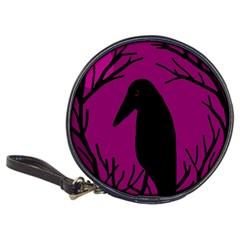 Halloween raven - magenta Classic 20-CD Wallets