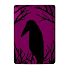 Halloween raven - magenta Kindle 4