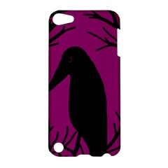 Halloween raven - magenta Apple iPod Touch 5 Hardshell Case