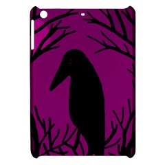 Halloween raven - magenta Apple iPad Mini Hardshell Case