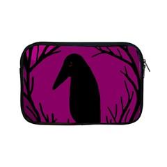 Halloween raven - magenta Apple iPad Mini Zipper Cases