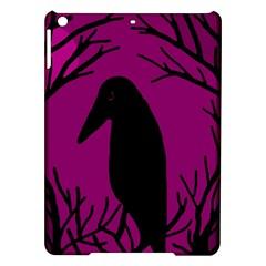 Halloween raven - magenta iPad Air Hardshell Cases