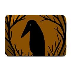 Halloween raven - brown Plate Mats